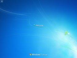 Windows 7 7057 Welcome